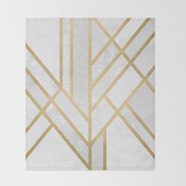 Art Deco Geometry 2 Throw Blanket