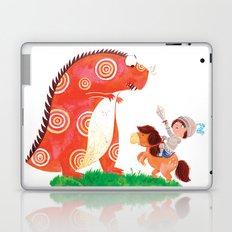Knight vs Monster Laptop & iPad Skin
