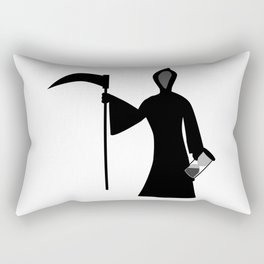 New Year Icon Father Time Rectangular Pillow
