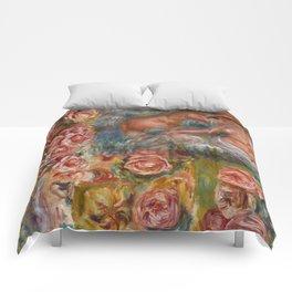 """Auguste Renoir """"Étude De Nus Et De Fleurs"""" Comforters"""