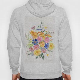 Loose Autumn Bouquet Hoody