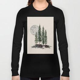 Full Moon Rising Long Sleeve T-shirt