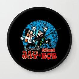 Jay & Silent Bob - Parody Art Wall Clock
