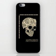 Skullography  iPhone & iPod Skin