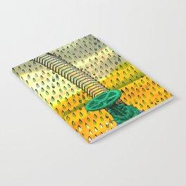 RainWater in the Desert - Tubes 2 Notebook