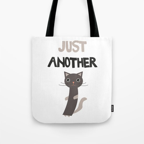 Just another cat Tote Bag