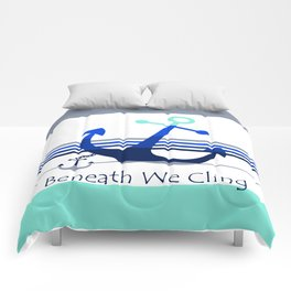 Beneath We Cling: White Comforters