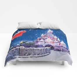 Winter fairy tale Comforters