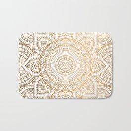 Gold Mandala Badematte