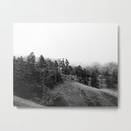 Foggy Forest Landscape Costa Rica | Travel photography art print  Metal Print