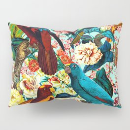 FLORAL AND BIRDS XV Pillow Sham