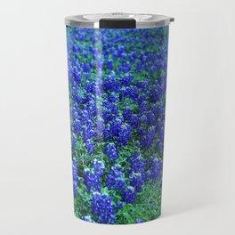 Field of Blue Travel Mug