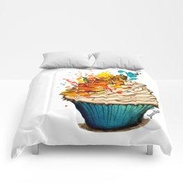 Cup Cake Grafite Comforters