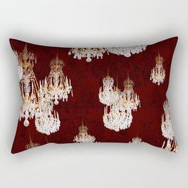 Le mur des lustres Rectangular Pillow