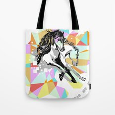 Comic Art: Wild Hearts Tote Bag
