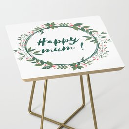 Happy Mum Side Table