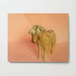 Toy Horse Metal Print