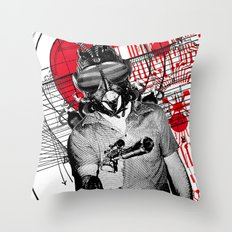 The Spy Throw Pillow