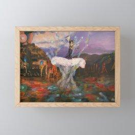 The sending Framed Mini Art Print