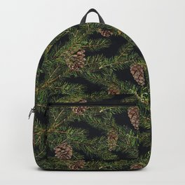 Christmas tree with pine cone Backpack