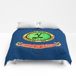 Musical Idaho State Flag Comforters