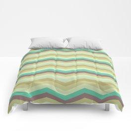 Chevron pattern Comforters