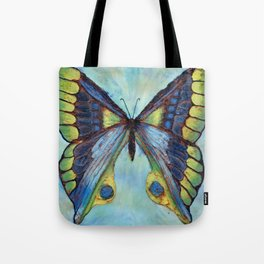 Patina Butterfly Tote Bag
