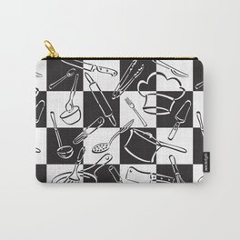 Kitchen Tools Checkerboard Carry-All Pouch