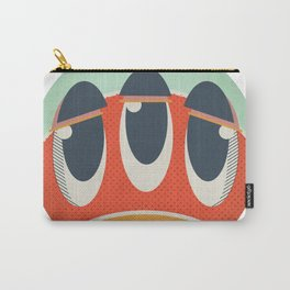 Cute Monster Sticker Carry-All Pouch