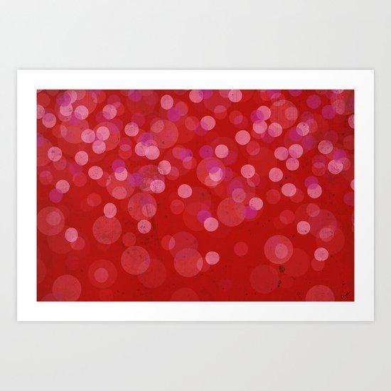 Roseus Pluvia –color version Art Print