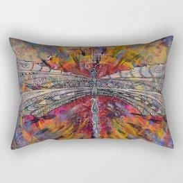 Mandala Dragon Rectangular Pillow