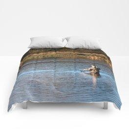 Gone Fishing 2 Comforters