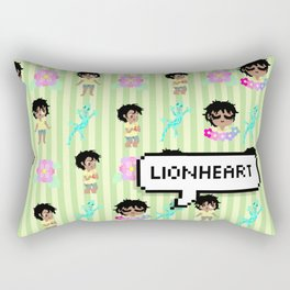"""Lionheart"" Simon Lord of the Flies Rectangular Pillow"