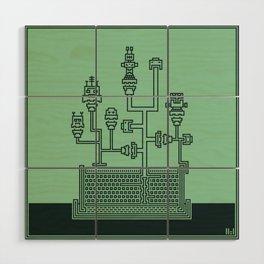 Planticular Robotic Wood Wall Art