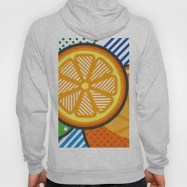 illustration pop pattern Hoody
