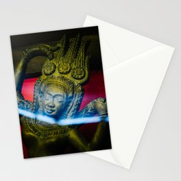 Statue in Ha Noi Stationery Cards