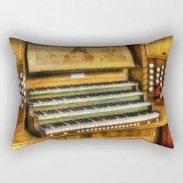 Church Organ Art Rectangular Pillow