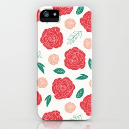 Moody Floral iPhone Case