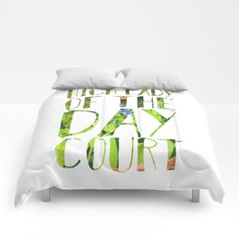 High Lady of the Day Court Comforters