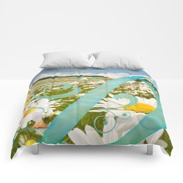 D is for Ducklings and Daisies Comforters