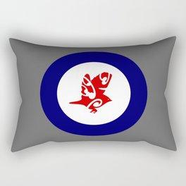 Silvereye Air Force Roundel Rectangular Pillow