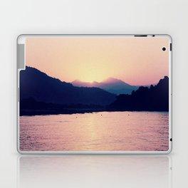 Romantic Pastel Pink Sunset #1 #art #society6 Laptop & iPad Skin