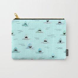 Sharkhead - Shark Pattern Carry-All Pouch