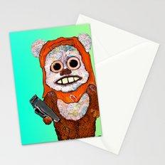 Eccentric Ewok Stationery Cards