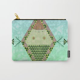 Cuerpo afroafricano Carry-All Pouch
