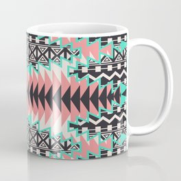Tribal Beat Geo Pastel Coffee Mug