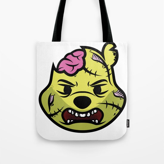 Zombie Winnie Tote Bag