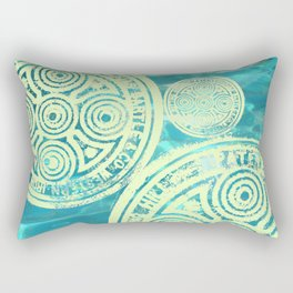 swimmingly three Rectangular Pillow