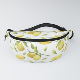 Lemon pattern Fanny Pack