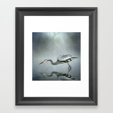 About to Strike Framed Art Print